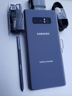 Samsung Galaxy Note 8 64GB Clean Unlocked Metro T-Mobile AT&T Cricket Sprint Boost Mobile Verizon Telcel Gray for Sale in Monterey Park, CA
