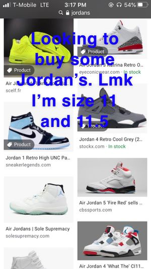 Looking for Jordan's for Sale in West Valley City, UT