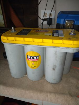 Optima car battery. Works for Sale in Hanford, CA