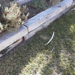 Free - Landscape Railroad Ties for Sale in Atascadero, CA