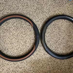 "15"" Leather Steering wheel Cover for Sale in Tucson, AZ"