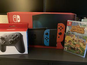 Nintendo Switch Animal Crossing Bundle for Sale in McDonald, PA