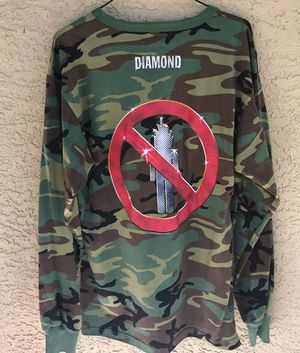 Diamond supply travis scott long sleeve tee size large for Sale in Naples, FL