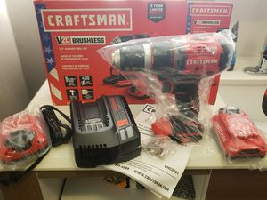 Craftsmen hammer drill set brand new for Sale in Tacoma, WA