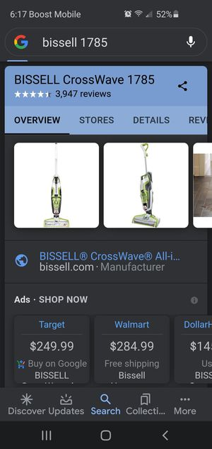 Bissell crosswave vacuum and surface cleaner for Sale in Canoga Park, CA