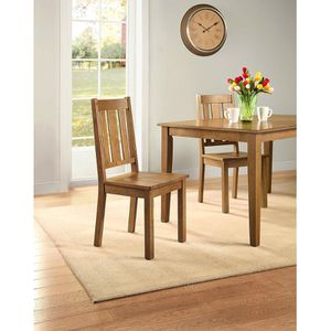 💯💦Better Homes and Gardens Bankston *Dining Chair, Set of 2*, Honey for Sale in Sugar Land, TX