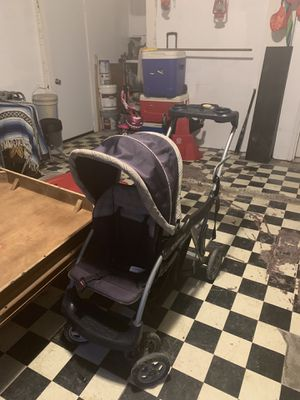 Graco Room For 2 Click Connect Stand & Ride Double Stroller, Gotham for Sale in Houston, TX