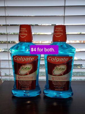 2 colgate total (16.9 fl oz) NUEVOS PRECIO FIRME/NO DELIVERY for Sale in Santa Ana, CA