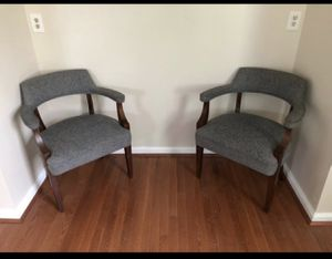 Grey office Chair (One - Two Bundle) (55/20) for Sale in Alexandria, VA