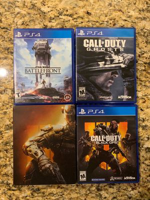 PS4 Games for Sale in San Antonio, TX