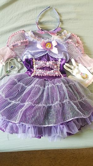 Disney Rapunzel Halloween costume 3t-4t for Sale in Birmingham, MI