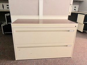 File Cabinet by Kimball - 2 Drawer for Sale in Atlanta, GA