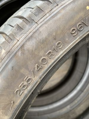235/40/19 Michelin (2 Tires) $80.00/ Both for Sale in Laguna Hills, CA