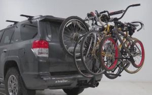 4 Bike Carrier Rack with 2 inch tilt receiver ( Hollywood) for Sale in Black Diamond, WA
