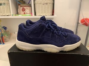 Air Jordan low top jeter 11s size 12 for Sale in Houston, TX