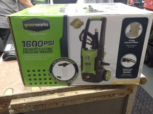 Green works pressure washer for Sale in Oak Park, IL