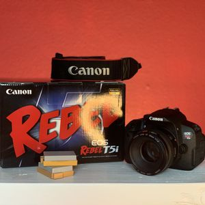 Canon T5i And Lens EF 50mm 1:1.4 for Sale in San Mateo, CA