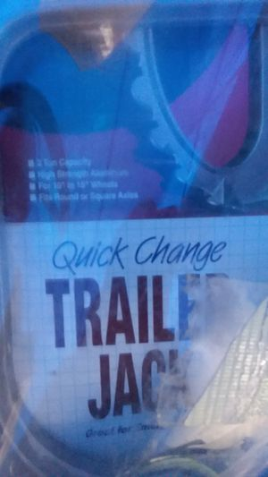 Quick Change Trailer Jack 2 Ton Capacity for Sale in Commerce City, CO