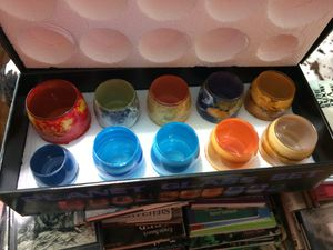 HIGHLY COLLECTABLE galaxy drink ware and in original box for Sale in Eastanollee, GA