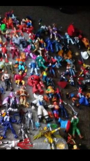 Huge lot of all Kind of Action Figures for Sale in Ontario, CA