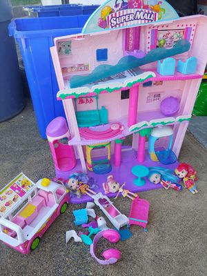Serious people!!!!!-shopkins mall dollhouse for Sale in Philadelphia, PA
