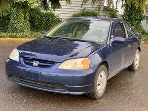 2001 Honda Civic for Sale in Tacoma, WA