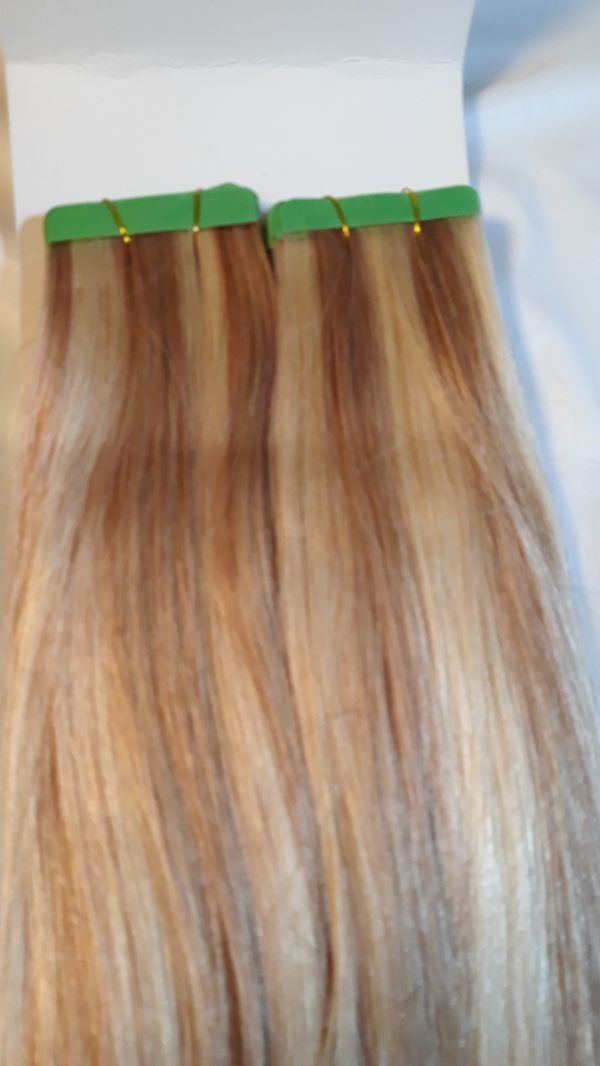 Human hair Tape in extensions 40 pieces $40