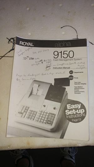 Royal 9150 Cash management system for Sale in Louisiana, MO