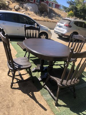 Solid Oak Dining Room for Sale in Perris, CA