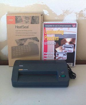 Laminator with Pouches for Sale in Roseville, CA