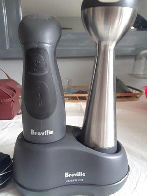 Breville cordless immersion blender for Sale in Fort Washington, MD