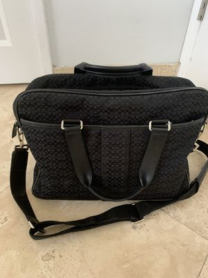 Coach computer-porrfoiombag for Sale in LAUD BY SEA, FL