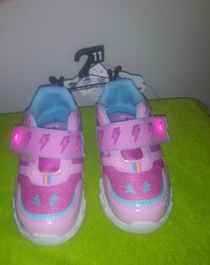 Little girl my little pony light up shoes size 11 for Sale in Charlotte, NC
