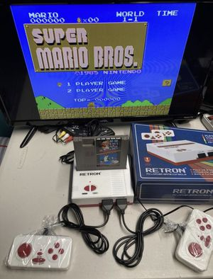 Play your Nintendo nes games comes with Mario bros for Sale in Miami, FL