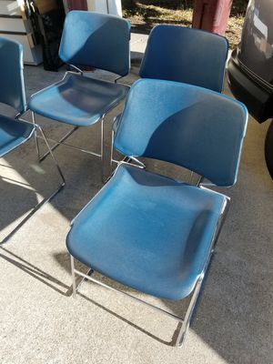 Chairs great condition comfortable and sturdy. Indoor or outdoor use. for Sale in Hayward, CA