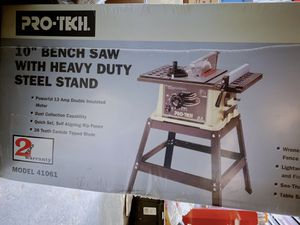 "Table Saw (10"") w/ Stand for Sale in Chicago, IL"