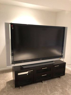 Sony 70 inch Digital Laser Projection (DLP) TV with remote control plus Roku streaming stick for Sale in Washington, DC