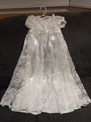 Baby Girl Baptism Dress w/ bonnet for Sale for sale  Union, NJ