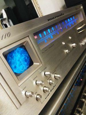 (Marantz) Model: 2110 Oscilloscope/ Tuner ... Needs some cleaning for Sale in Las Vegas, NV
