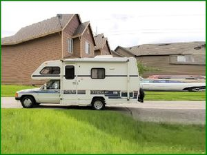 URGENT I sell my rv 1989 Toyota Itasca rv Super cute and clean in and out . for Sale in Los Angeles, CA