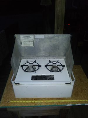 Wedgwood Propane RV/CAMP Stove. Counter, Table or Camperside Mount. for Sale in Flat Rock, NC