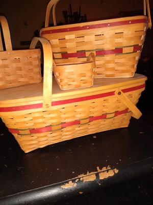 Longaberger Baskets for Sale in Indianapolis, IN