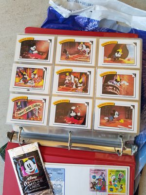 Disney Collector Cards Notebook full for Sale in Hesperia, CA