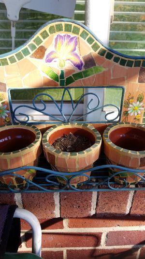 3 plant pot set for Sale in Washington, DC