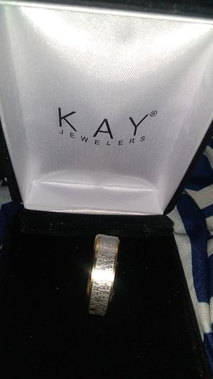 New mens size 10 stainless steel ring for Sale in Allentown, PA