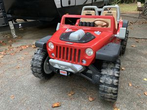 Jeep Power Wheels Toy in great condition. for Sale in Peachtree Corners, GA