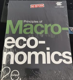 Principles of Macroeconomics 2nd Edition Openstax for Sale in Monterey Park, CA
