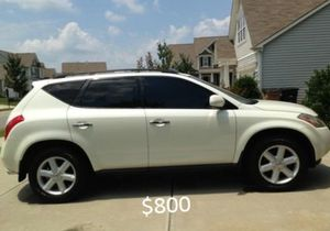 Very clean Nissan Murano 2O03 4WD-Wheelsss for Sale in Baltimore, MD