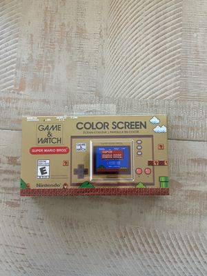 Brand new Nintendo Game and Watch for Sale in El Paso, TX