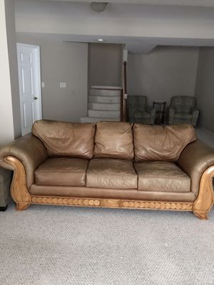 Leather Sofa and love Seat for Sale in City of Saint Peters, MO